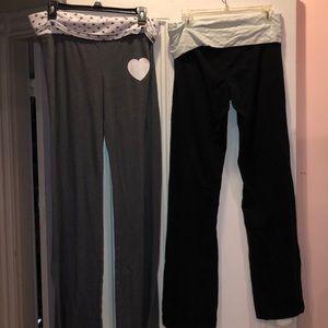 VS YOGA PANTS BUNDLE (2) [size L]
